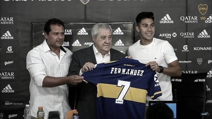 """Guillermo Fernández, primer refuerzo de Boca: """"Vuelvo al club en el que crecí"""""""