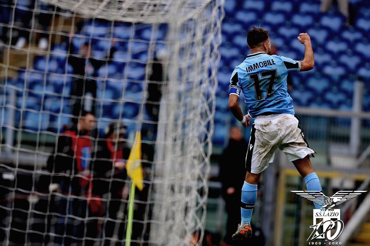 Immobile demolisce la Sampdoria: cinquina della Lazio