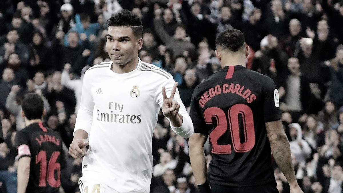 Análise: Sevilla dificulta, mas Real Madrid pressiona em dia de Casemiro e conquista liderança