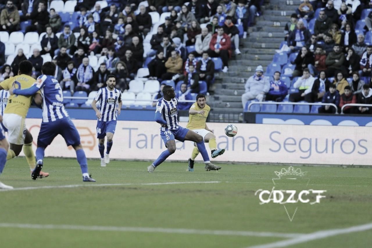 Deportivo de la Coruña 1-0 Cádiz CF: el Cádiz sigue sin levantar cabeza