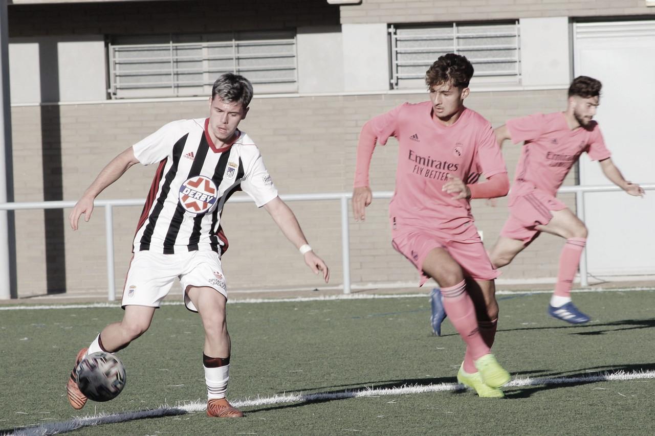 El Juvenil A supera al CD Badajoz por la mínima (0-1)