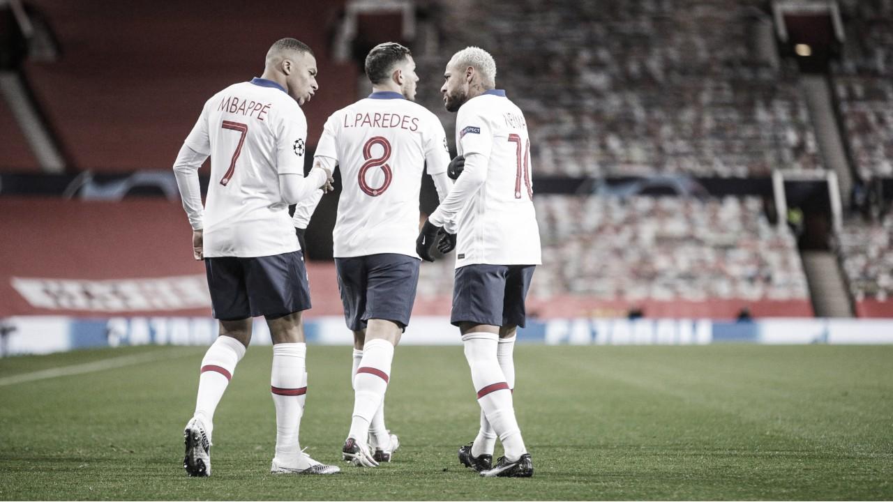 Neymar y Mbappé celebrando el 0-1 / FOTO: PSG