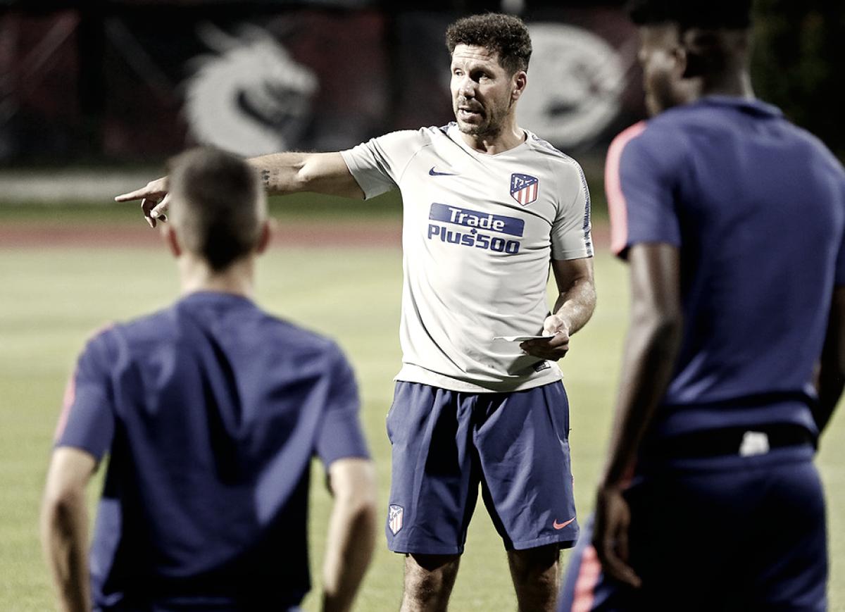 "Simeone: ""Se abre un año con muchas expectativas"""