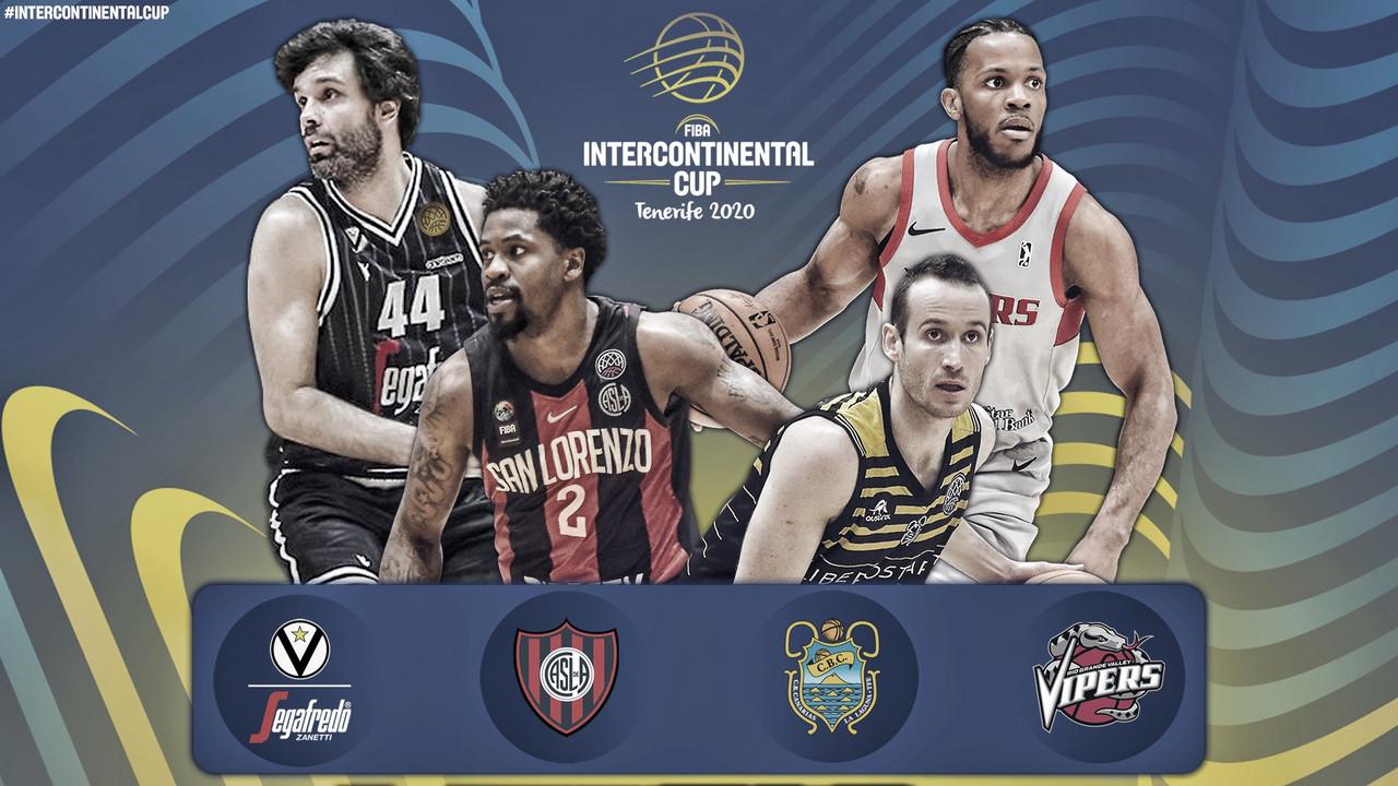 Comienza la Copa Intercontinental de FIBA
