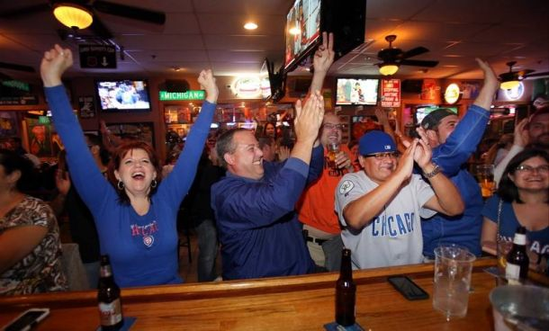 Chicago Cubs Success In Postseason Has Sparked An Economic Boost For Local Bars And Restaurants