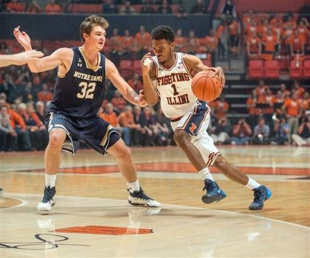 Illinois Falls To Notre Dame In First Game Back At Renovated State Farm Center
