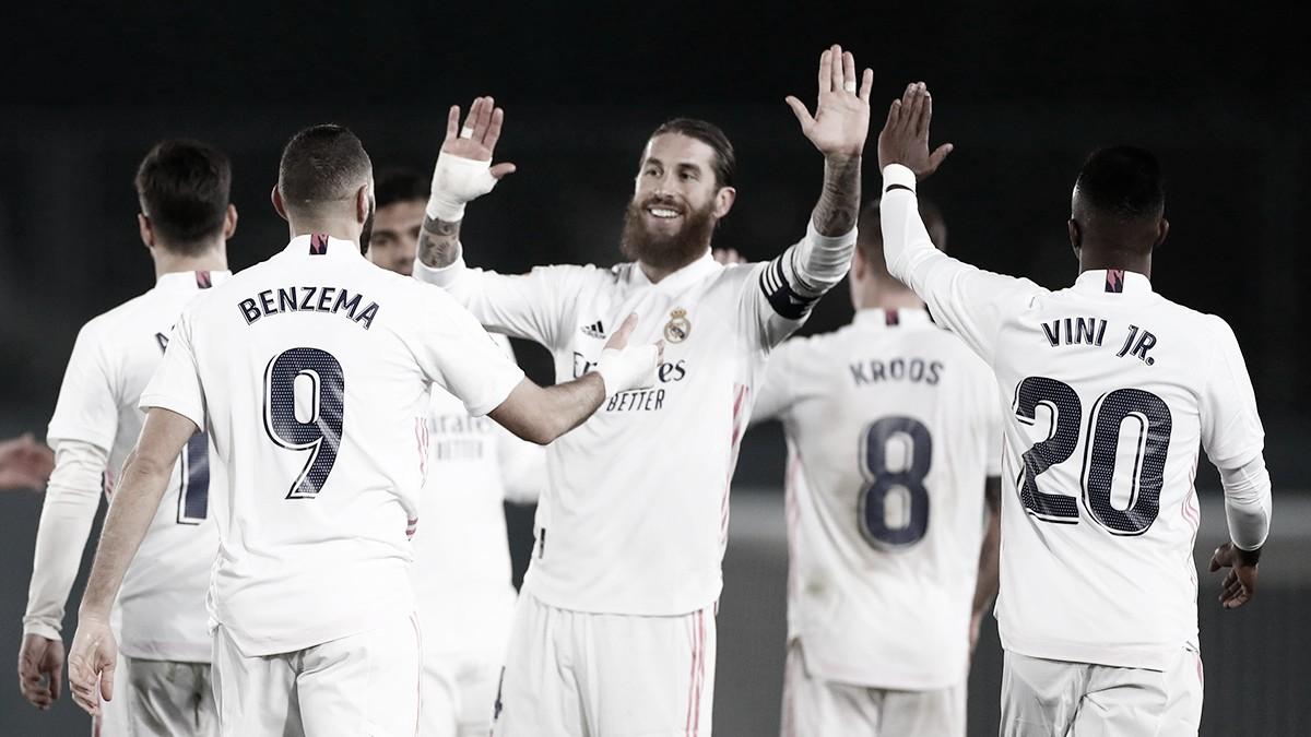 Real Madrid resolve no segundo tempo, derrota Granada e encosta no líder Atlético de Madrid