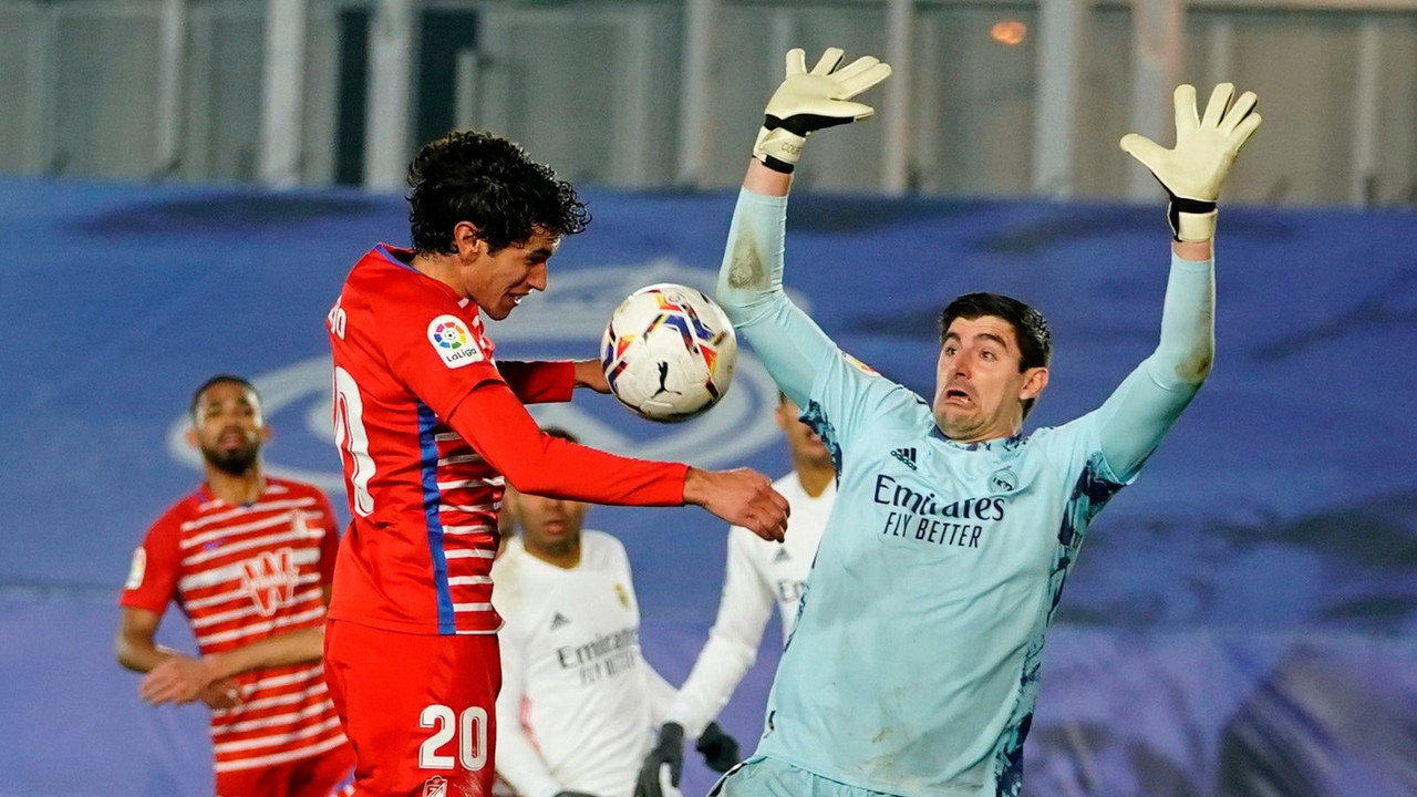 El Madrid sufre para ganar al Granada CF