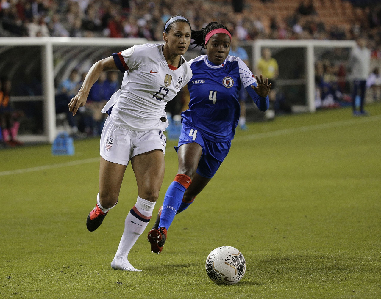 USWNT Begin Olympic Qualifying With 4-0 Win Over Haiti