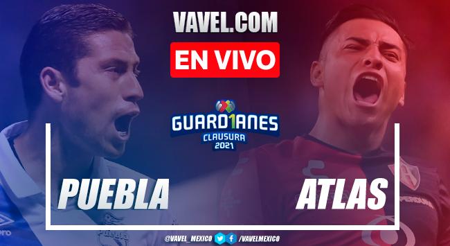Resumen y gol del Puebla 1-0 Atlas en Cuartos de Final de Vuelta de la Liga MX Guard1anes 2021