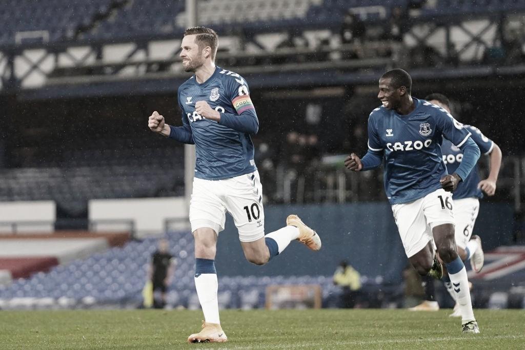 Na bola parada, Everton se reabilita e encerra sequência invicta do Chelsea