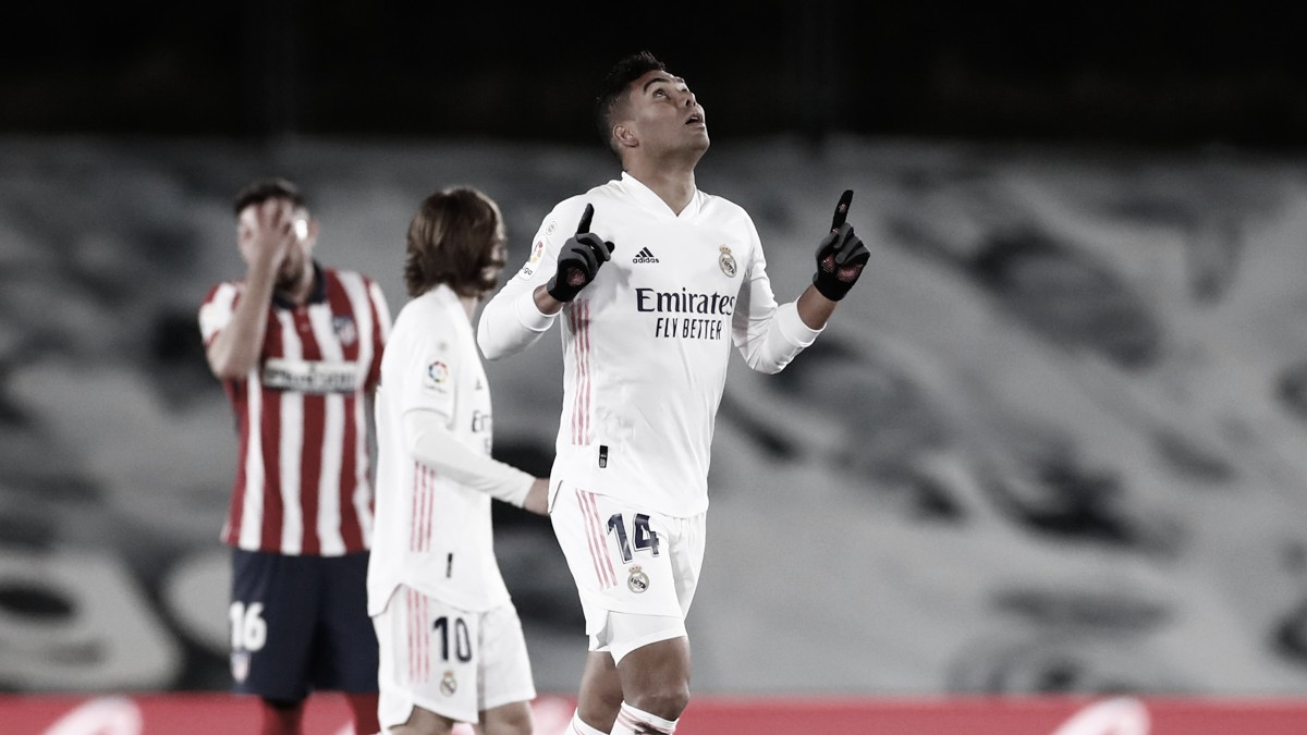 Casemiro, el pulmón inagotable del Real Madrid
