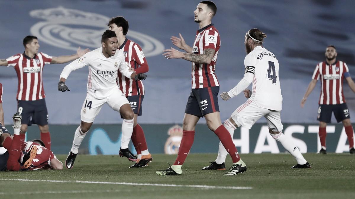 La mejor versión del Real Madrid ante un Atlético irreconocible