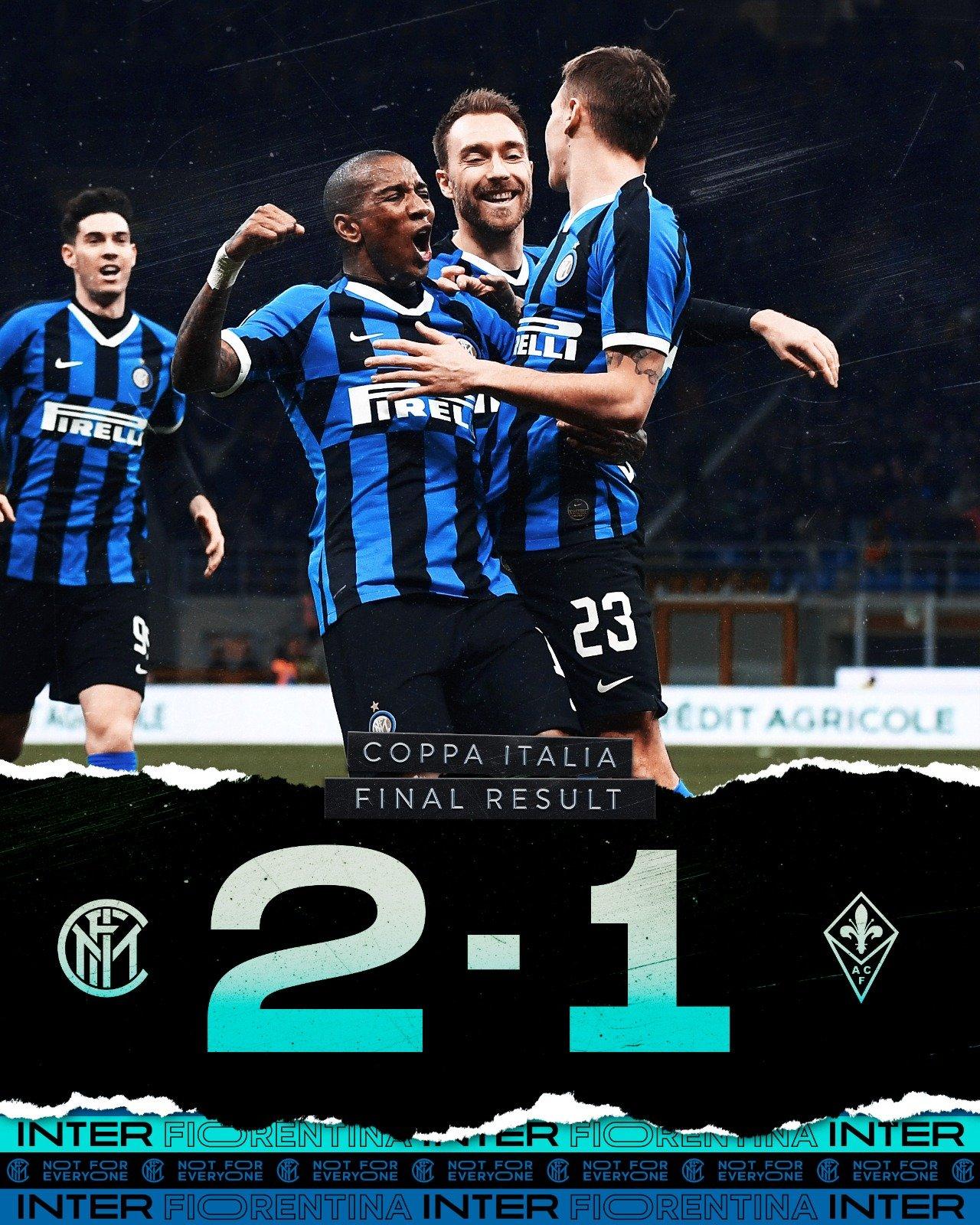 L'Inter continua la corsa in Coppa Italia: Barella regala la semifinale (2-1)