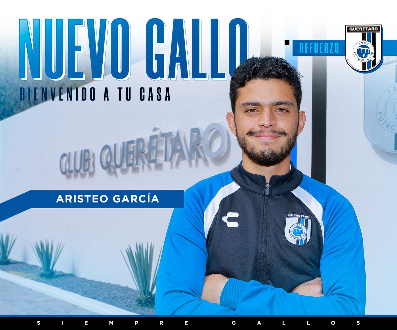 Aristeo García llega a Gallos