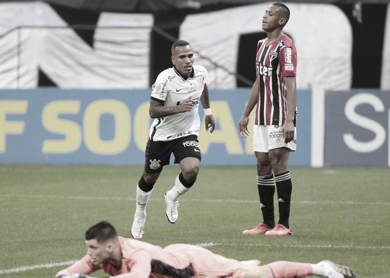 Corinthians faz por merecer, vence São Paulo e mantém tabu em Itaquera