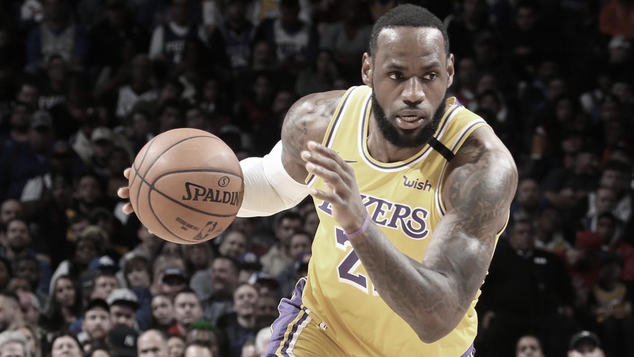 LeBron James entra en el podio de anotadores de la NBA tras superar a Kobe Bryant