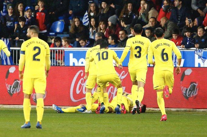 Resumen Rayo Vallecano 0 2 Villarreal Cf Copa Del Rey 2019 20 28