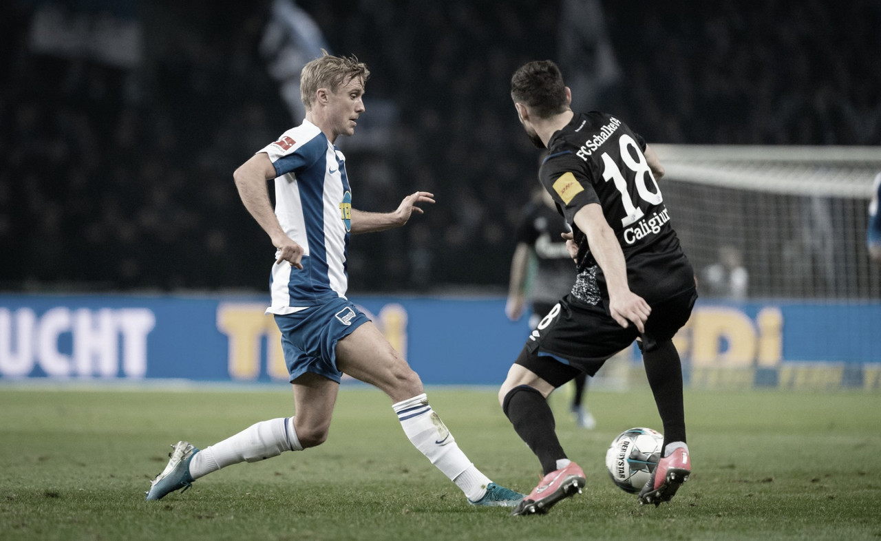 Sem gols, Schalke 04 e Hertha Berlin empatam na Bundesliga