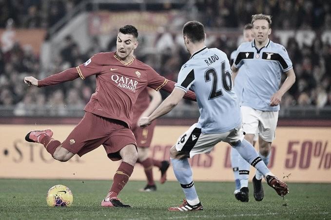Roma joga melhor, mas fica apenas no empate com a Lazio