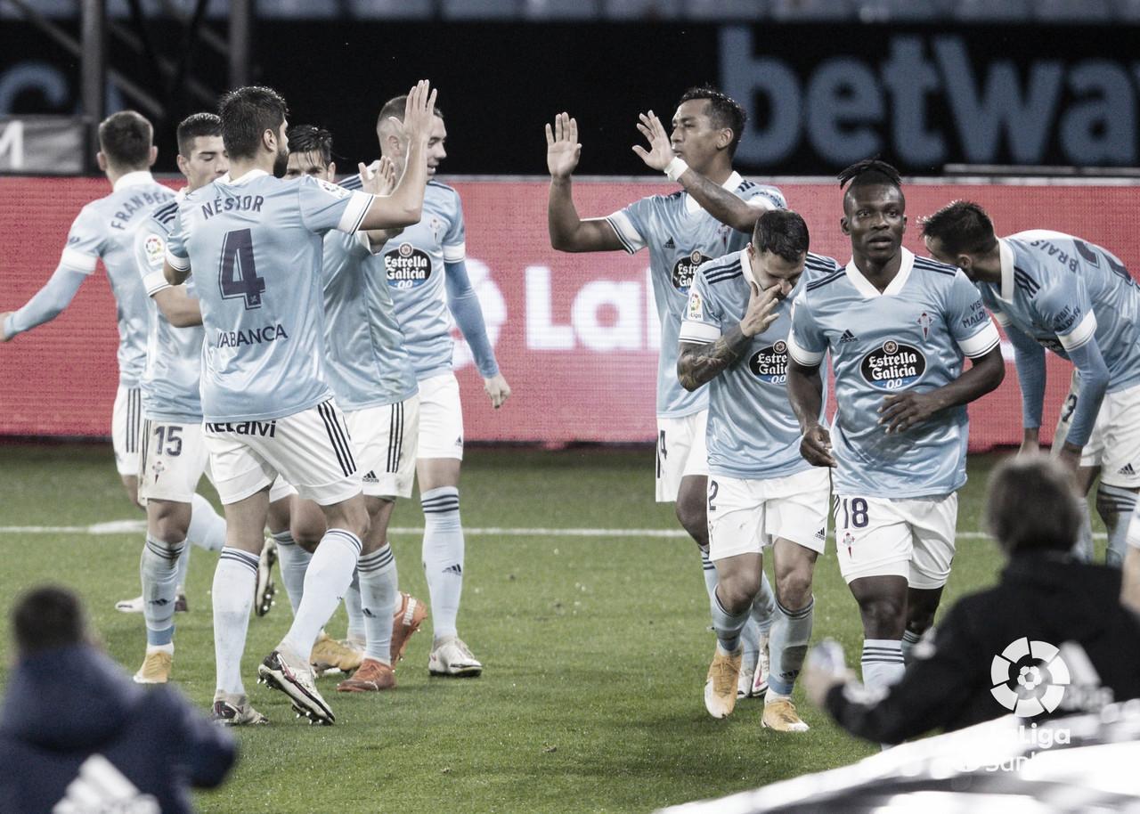 RC Celta 4-0 Cádiz CF: irreconocibles en Balaídos
