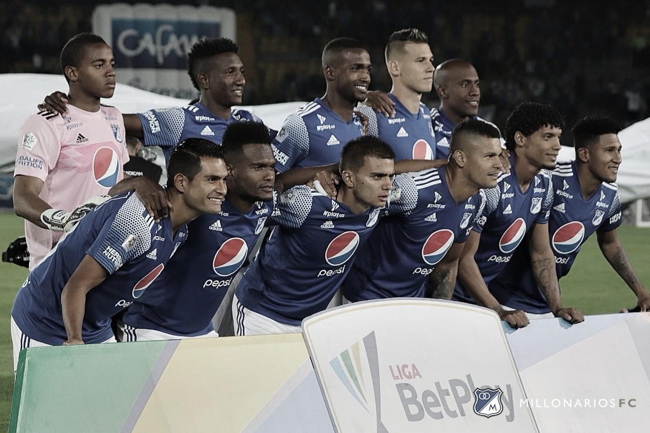 Convocados en Millonarios para enfrentar a Cúcuta Deportivo