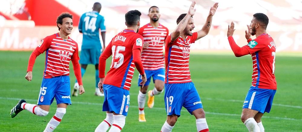 El 2020, el año con más victorias del Granada CF