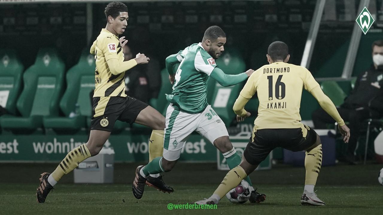Dramático encuentro entre el Bremen y el Dortmund