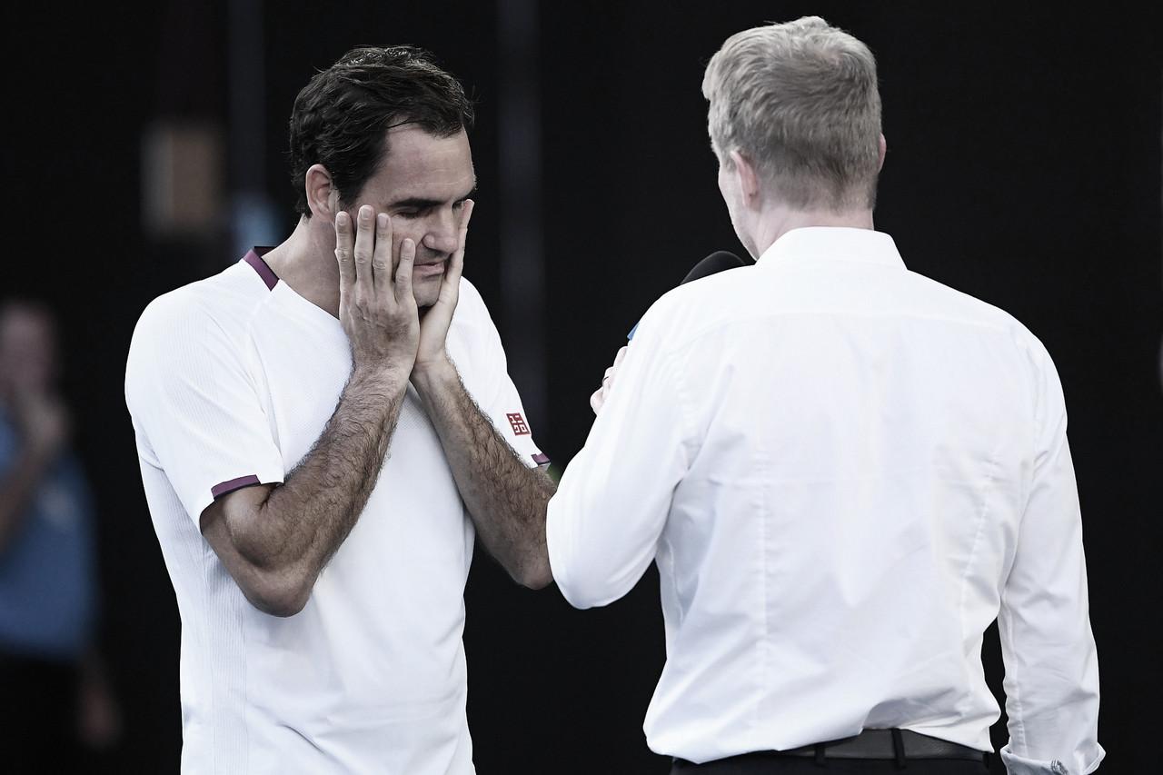 Roger Federer dice adiós a Roland Garros