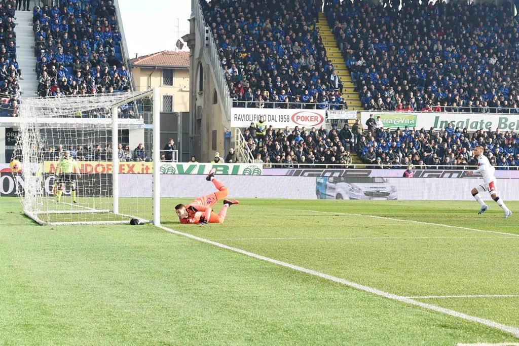 Il Genoa ferma l'Atalanta: 2-2 al Gewiss Stadium