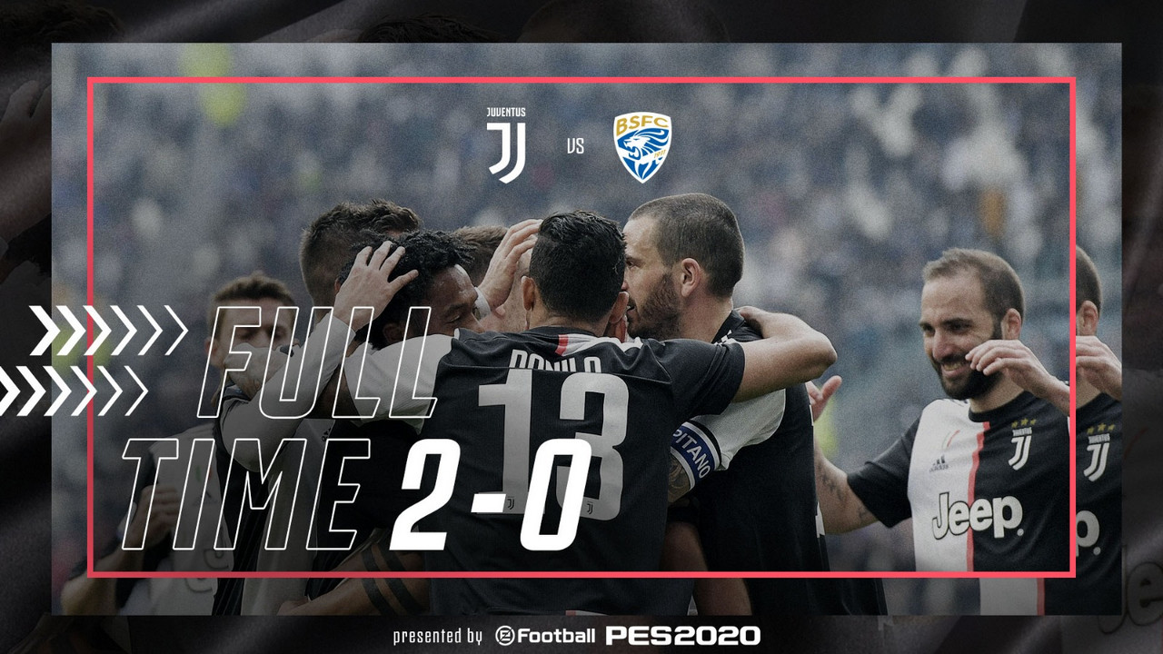 La Juve vince con Dybala e Cuadrado: battuto 2-0 un Brescia comunque promosso