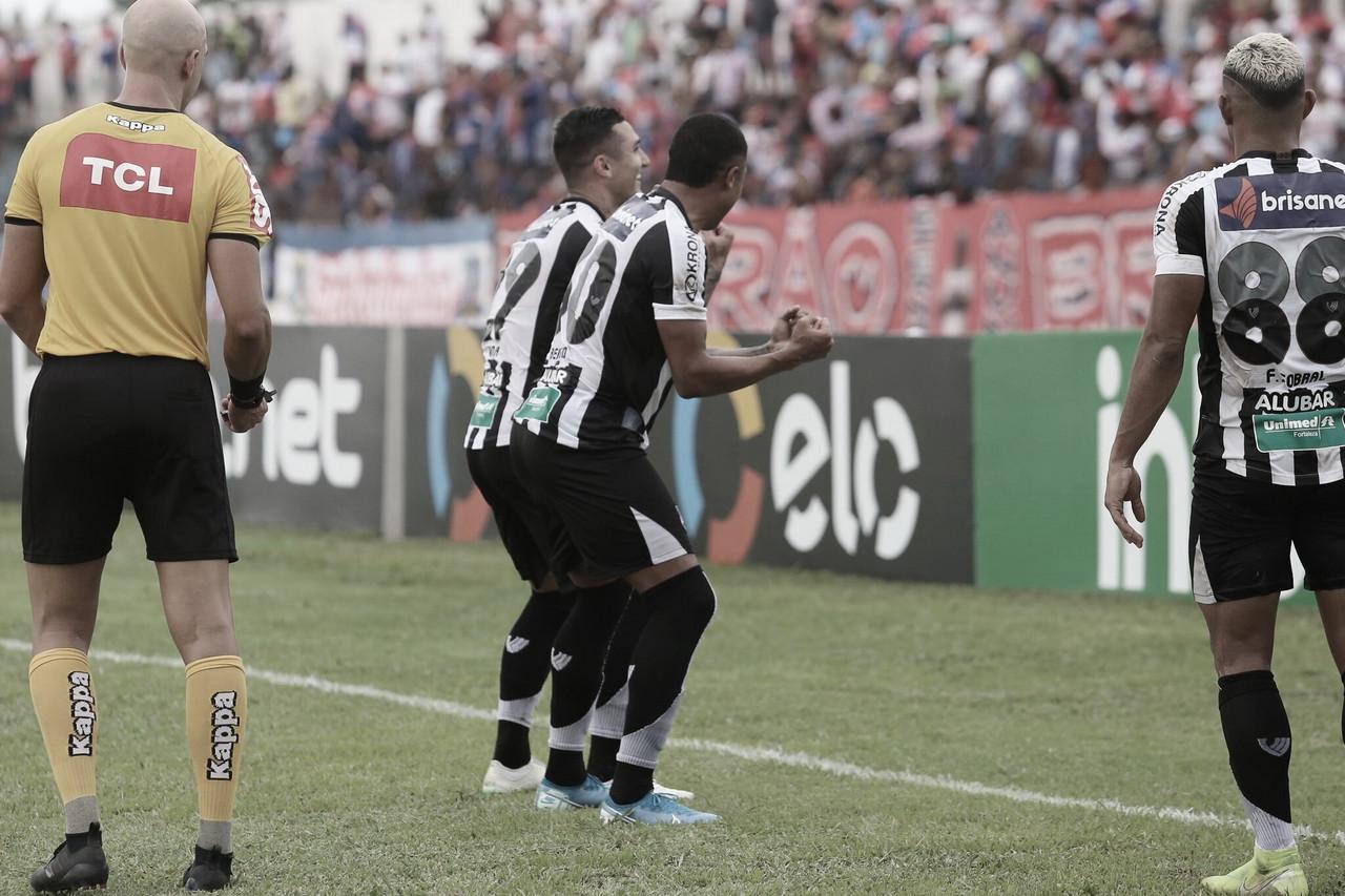 No retorno de Enderson Moreira, Ceará vence Bragantino-PA e segue na Copa do Brasil