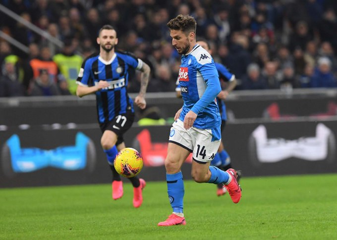 Il Napoli sbanca San Siro: contro l'Inter decisivo Fabian Ruiz