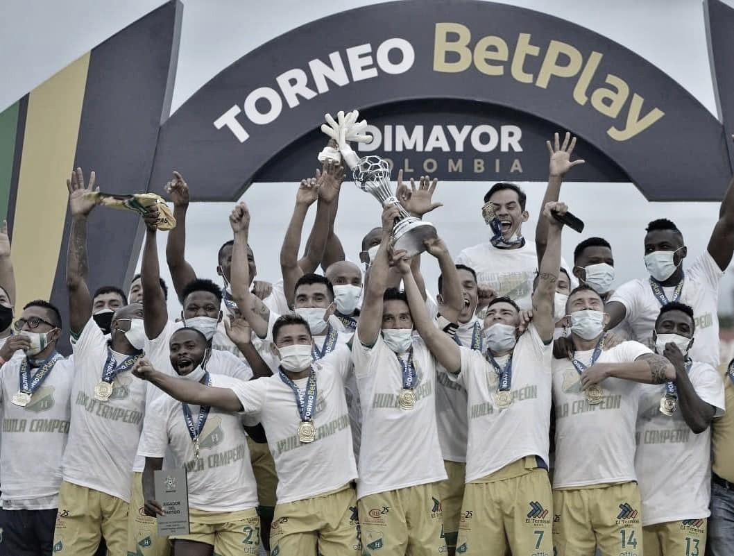 Atlético Huila se coronó campeón del Torneo BetPlay 2020