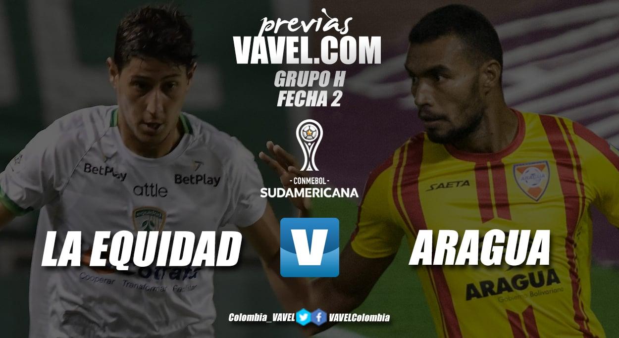 Previa La Equidad vs Aragua FC: los 'aseguradores' buscan sumar sus primeros tres puntos