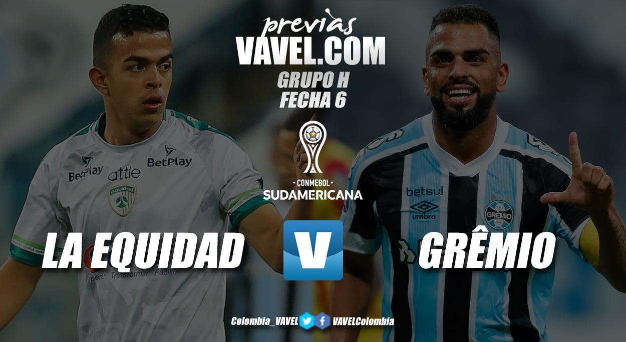 Previa La Equidad vs Grêmio: un duelo por cumplir con el calendario