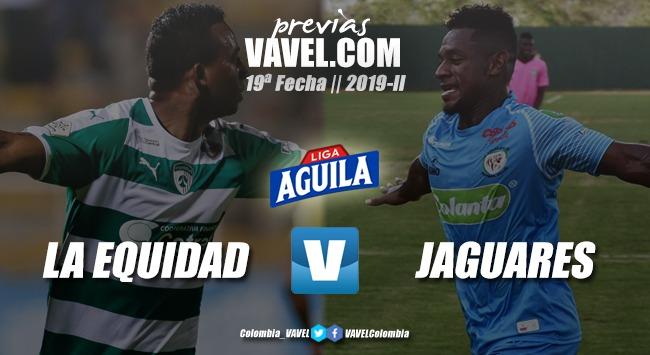 Previa La Equidad vs. Jaguares: el 'asegurador' como juez del 'felino'