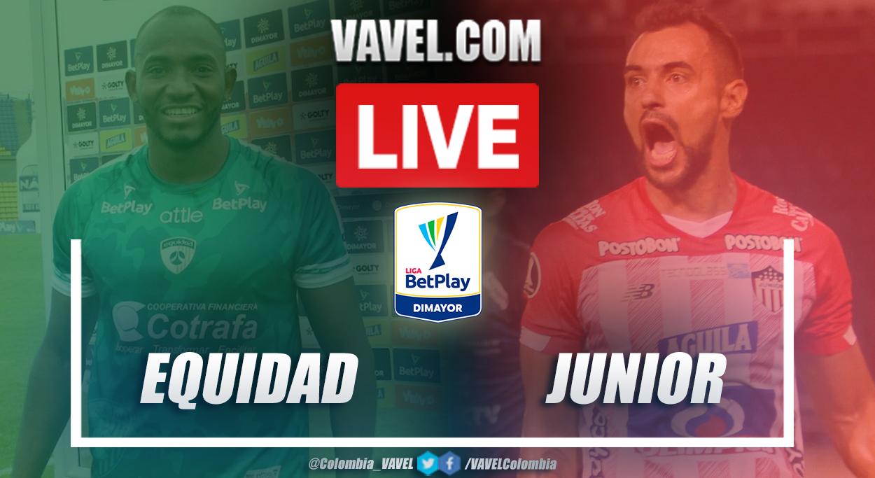 Resumen La Equidad vs Junior (1-0) en la fecha 4 por Liga BetPlay 2021-I