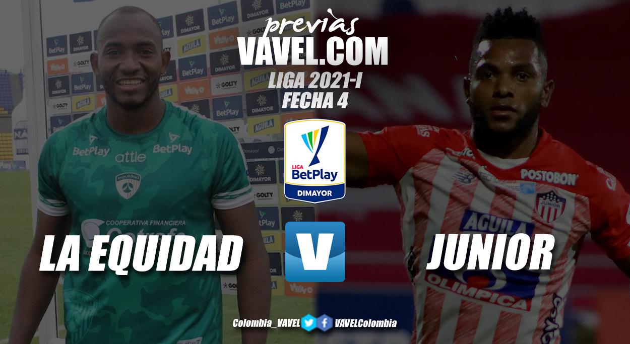 Previa La Equidad vs Junior: duelo por tres puntos claves en Zipaquirá