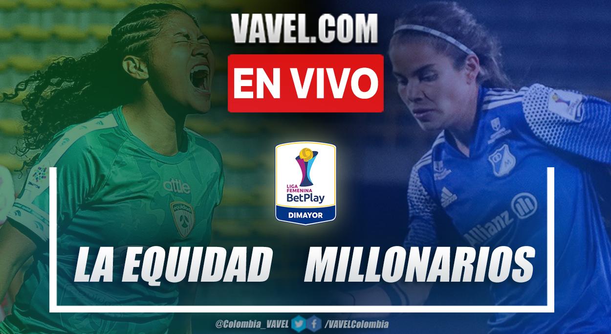 Resumen La Equidad vs Millonarios  (1-1) en la fecha 6 del grupo A por Liga Femenina 2021