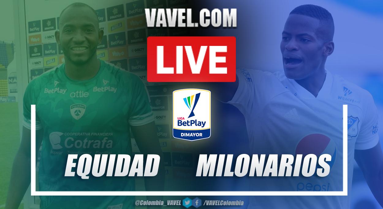 Resumen La Equidad vs Millonarios (1-0) en la fecha 6 por Liga BetPlay 2021-I