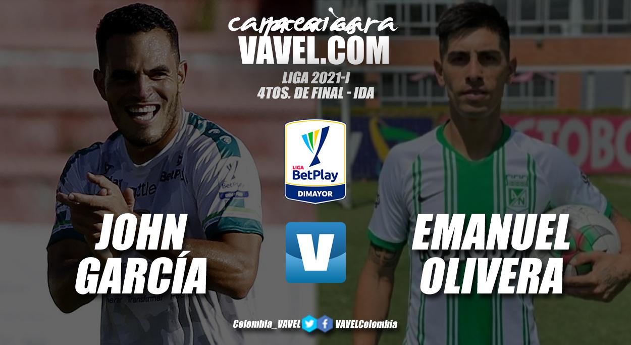 Cara a cara: John García vs Emanuel Olivera
