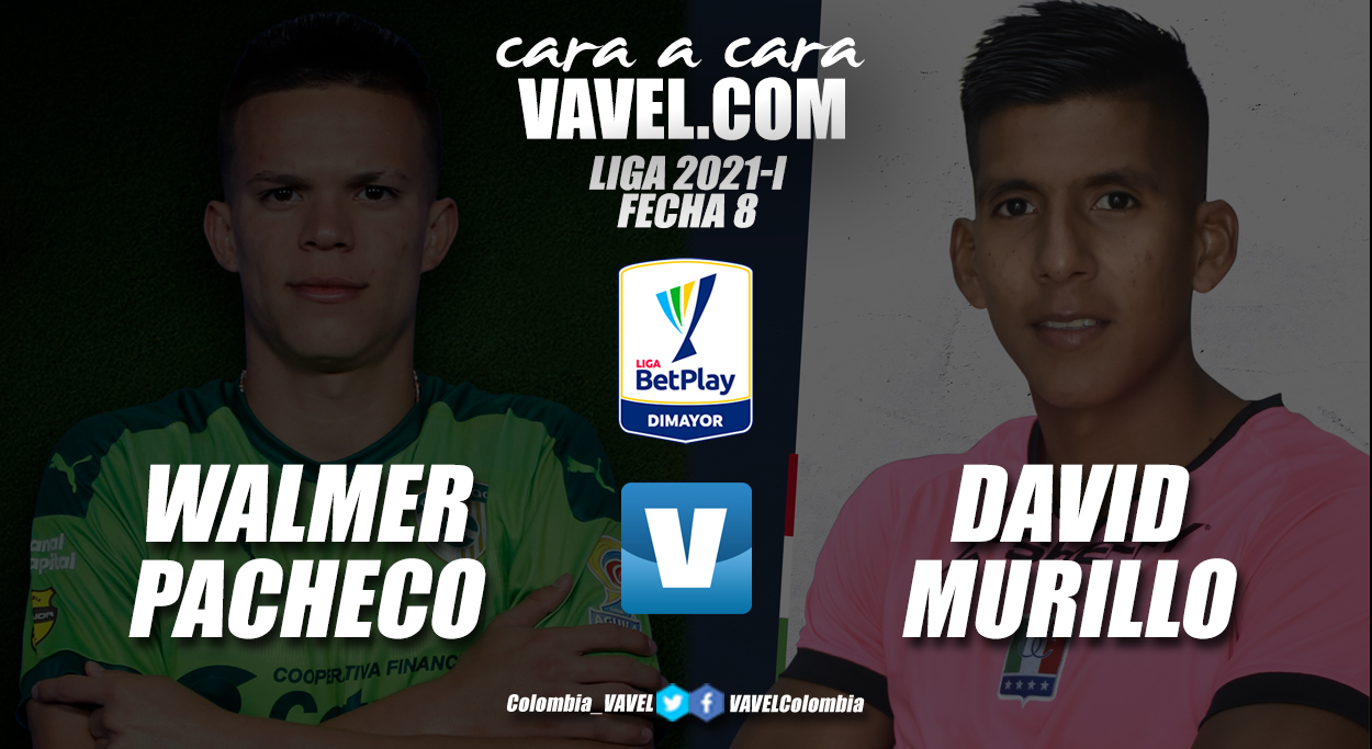 Cara a cara: Walmer Pacheco vs David Murillo