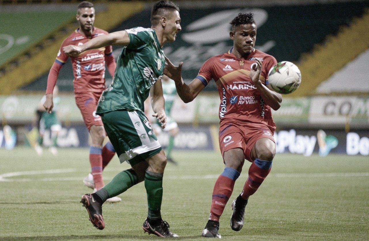Discreto empate entre La Equidad y Deportivo Pasto