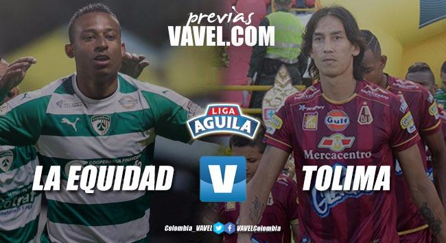 Previa La Equidad vs Deportes Tolima: el liderato en juego
