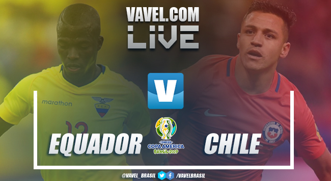 Gols e melhores momentos Equador 1x2 Chile, pela Copa América 2019