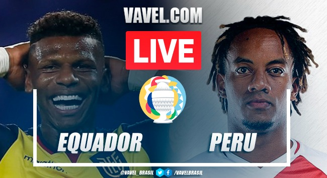 Gols e melhores momentos Equador x Peru pela Copa América 2021 (2-2)