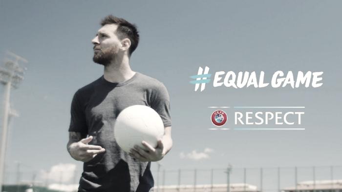 Hegerberg, Messi, Pogba y Cristiano Ronaldo se ponen al servicio de la UEFA apoyando un #EqualGame