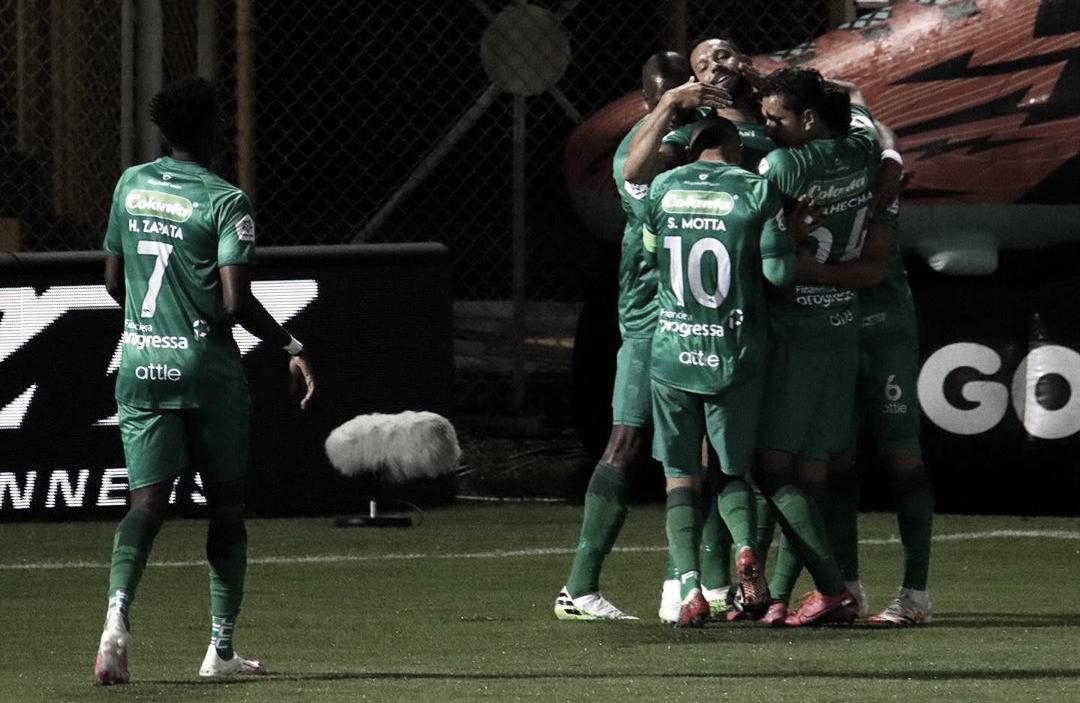 La Equidad regresó con goleada sobre Boyacá Chicó