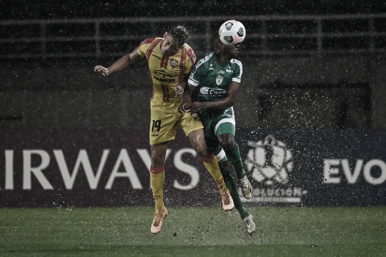 Bajo la lluvia, La Equidad sumó sus primeros tres puntos en la Sudamericana